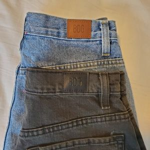 BUNDLE of 2 Urban Outfitters BDG Mom HR Shorts